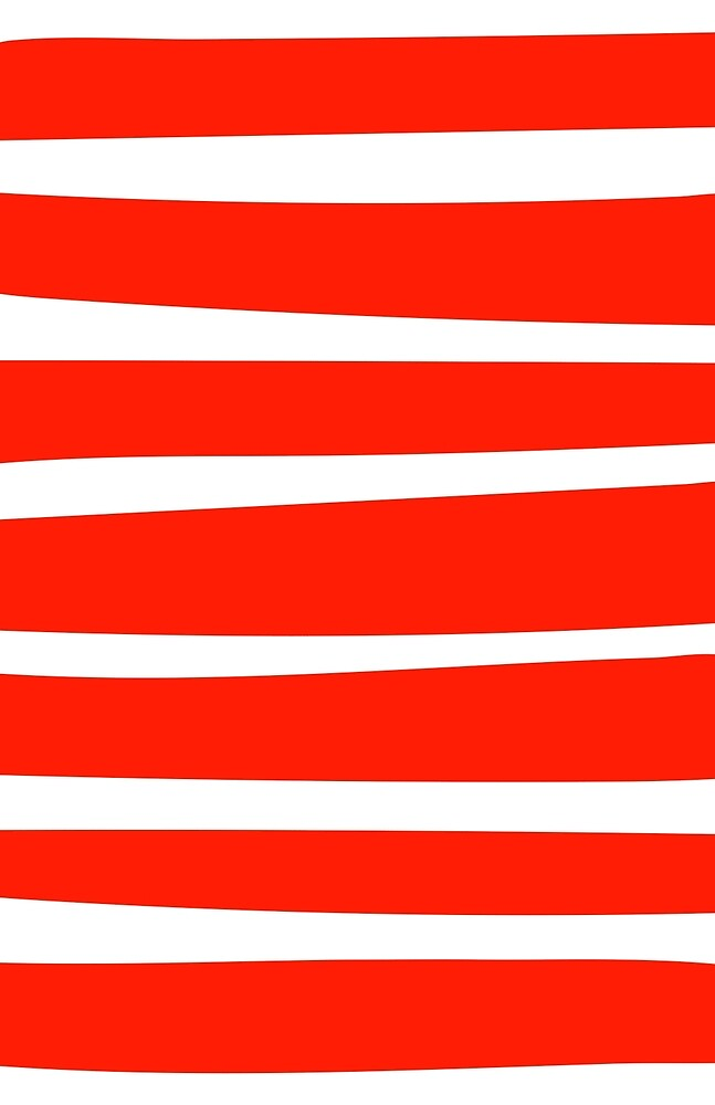 Red Stripes. by vectorwebstore