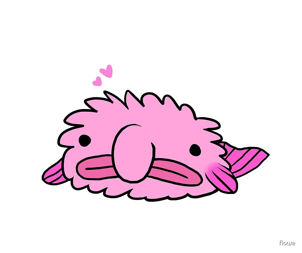 Fluffiest Blobfish by flowe