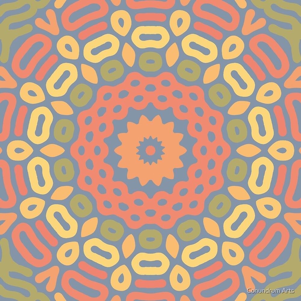 Autumn Mandala by Conundrum Arts
