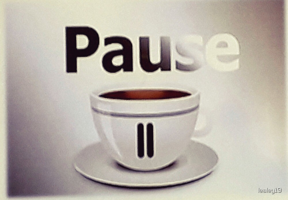 Pause, have a nice pausr by lealey19