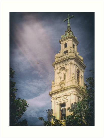 Bell Tower of the Sanctuary of the Blessed Virgin of the Rosary by Giuseppe 23 Esposito
