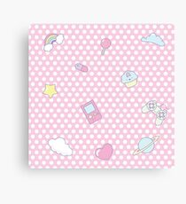 My occupations - Fairy Kei Canvas Print