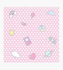 My occupations - Fairy Kei Photographic Print
