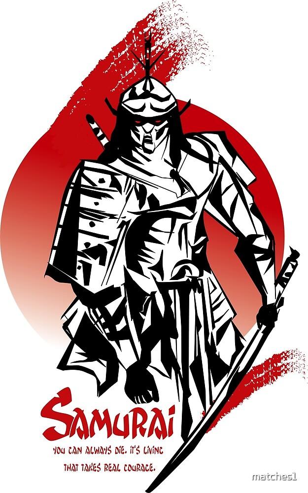 Samurai T-Shirt by matches1