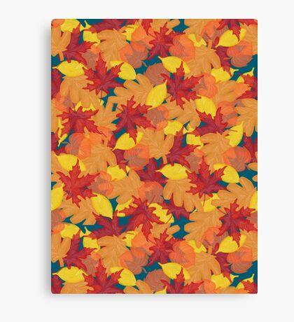 Bright Fall #redbubble #fall Canvas Print