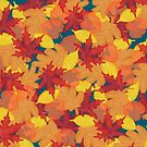Bright Fall #redbubble #fall by designdn
