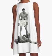 STAY DOWN A-Line Dress