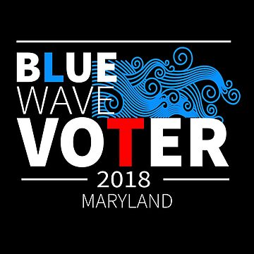Blue Wave Voter 2018 Maryland by LisaLiza