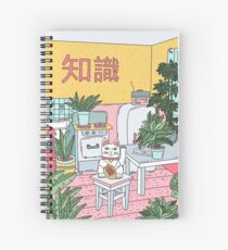 Maneki Plants Spiral Notebook