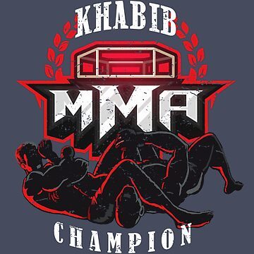MMA Champion Khabib vs McGregor Mixed Martial Arts Cage Fight  by MDAM