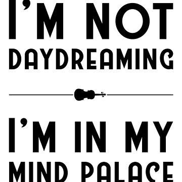 Sherlock, Mind Palace (B&W) by JoyfulTypist
