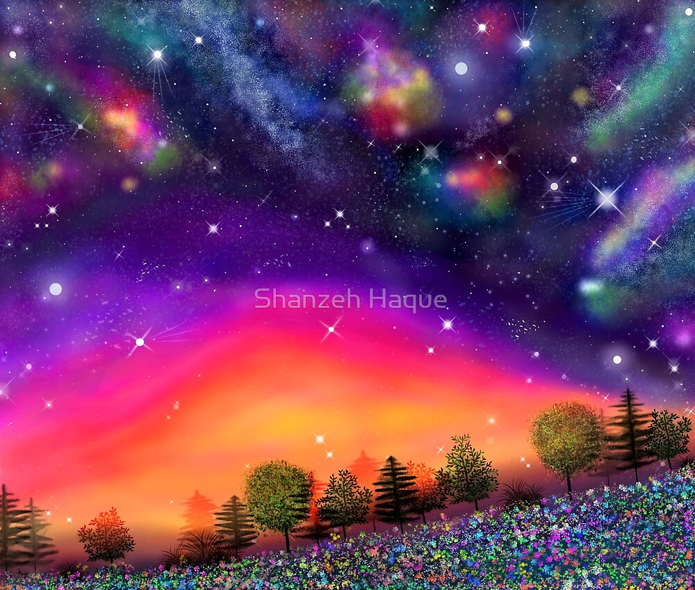 Sunrise Horizon by Shanzeh Haque