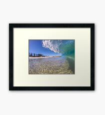 City Beach Alive Framed Print