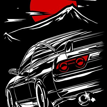 Nissan Silvia s13 | Haruna  by w1gger