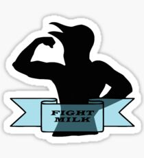 Fight Milk Sticker