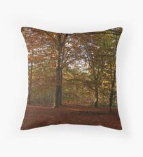 Autum Woodland Throw Pillow