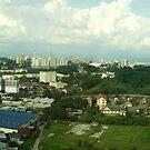 Malaysia Skyline Panorama.  by Tridib Ghosh