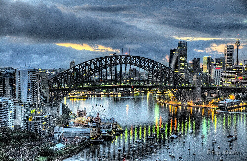 Somewhere - Moods Of A City - The HDR Experience by Philip Johnson