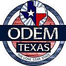 Odem Texas rustic wood circle by artisticattitud