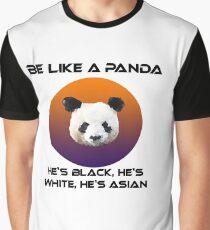 Panda - gegen Rassismus Grafik T-Shirt