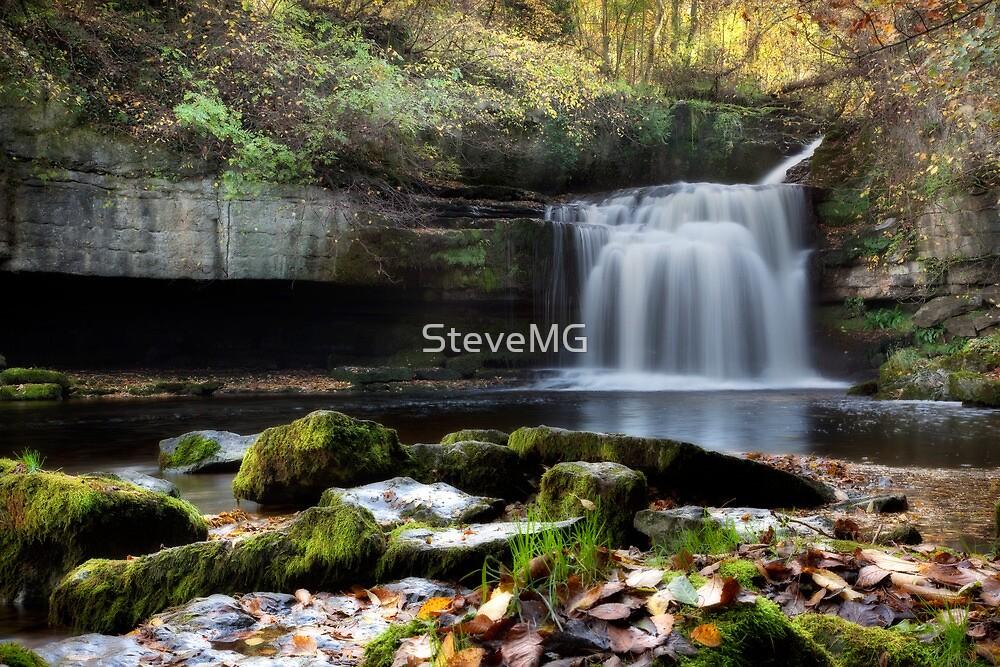 Cauldron Falls - West Burton by SteveMG