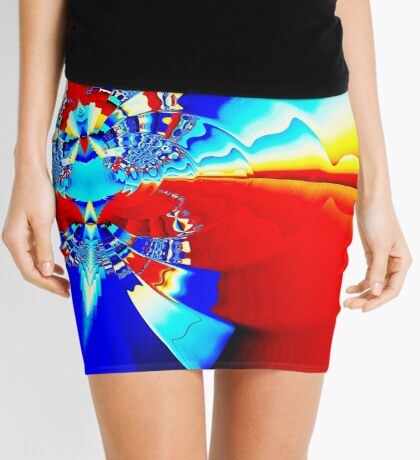 Ripples II Mini Skirt