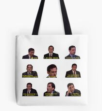 Michael Scott Quotes from The Office Tote Bag
