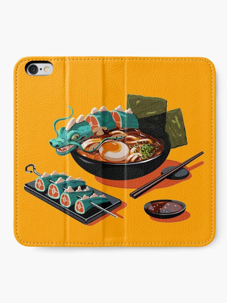 Alternate view of Ramen  iPhone Wallet