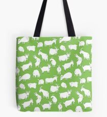 Charity fundraiser - Green Goats Tote Bag