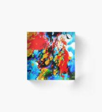Acryl Painting Acrylic Block