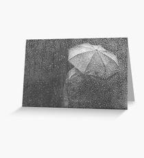 Raining again Greeting Card