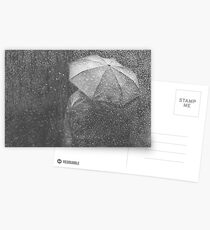 Raining again Postcards