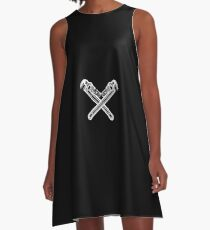 Plumber Crossed Wrenches Design  A-Line Dress