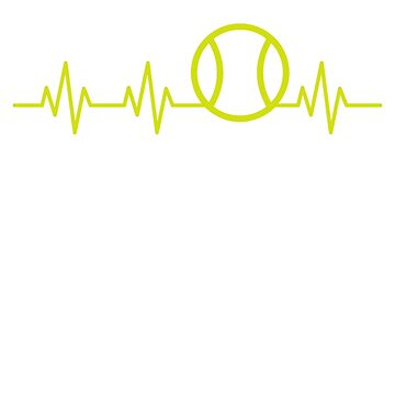 Tennis Ball Heartbeat by rockpapershirts