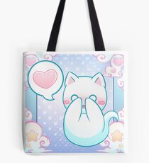 Ghost Cat - Shy - 2018 Tote Bag