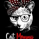 Funny The Catmother - Cat Mommy - Cat Mom - Cat Mother by proeinstein
