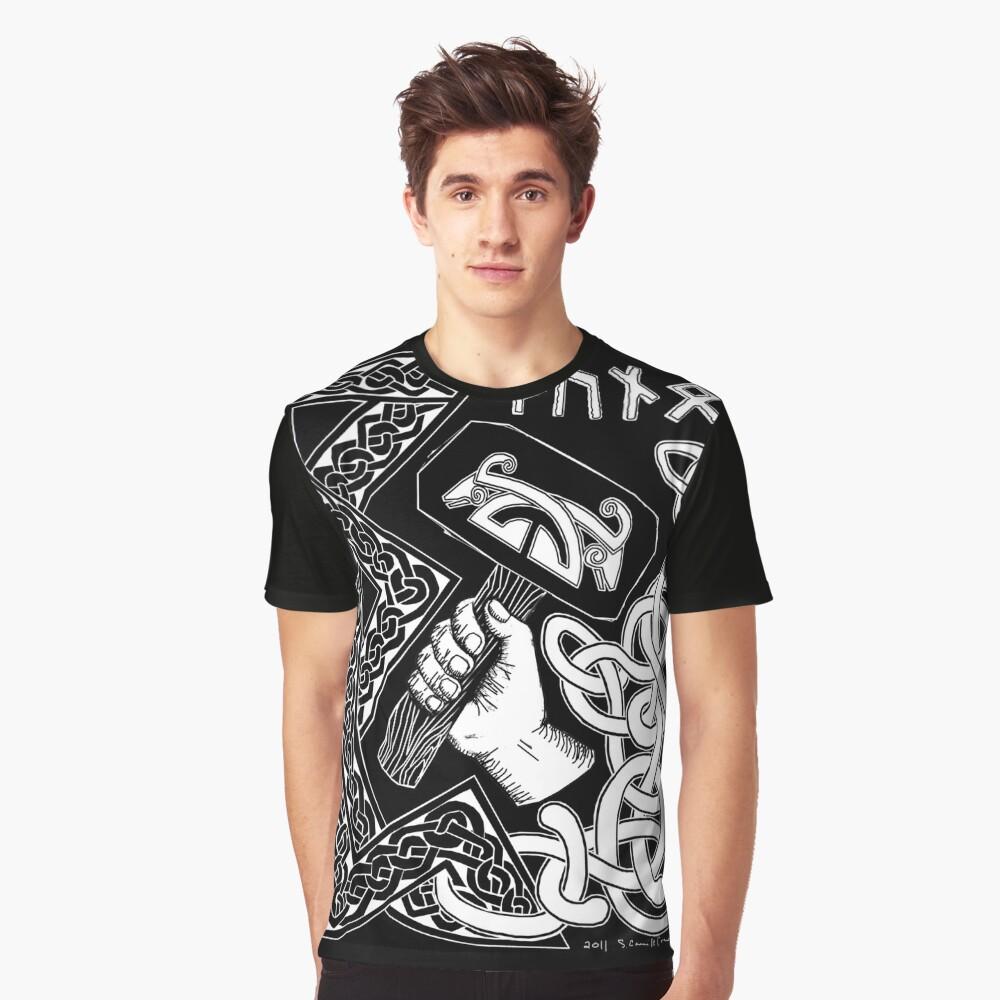 Thunor Graphic T-Shirt Front