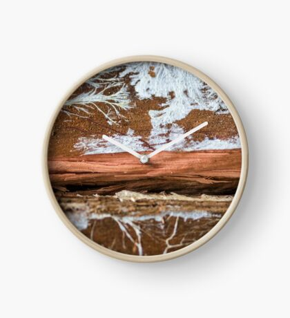 The wood draws trees - Reflecting the Nature it was Clock