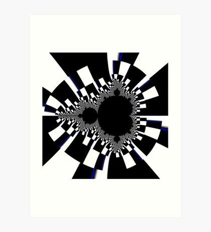 Untitled XVI - White Art Print