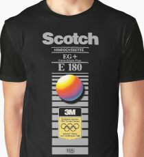 Retro VHS tape vaporwave aesthetic alternate version Graphic T-Shirt