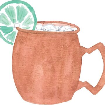 Moscow Mule Drink by hintofmint