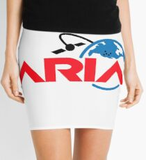 Advanced Rapid Imaging and Analysis (ARIA) Project Logo Mini Skirt