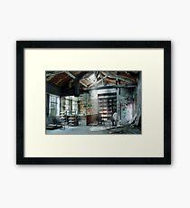 Urbex Framed Print