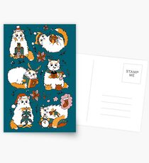 Christmas cats Postcards