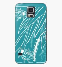 Calligrapha Beetles and Black Willow Case/Skin for Samsung Galaxy
