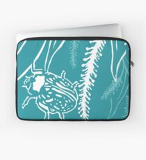 Calligrapha Beetles and Black Willow Laptop Sleeve
