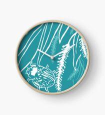 Calligrapha Beetles and Black Willow Clock