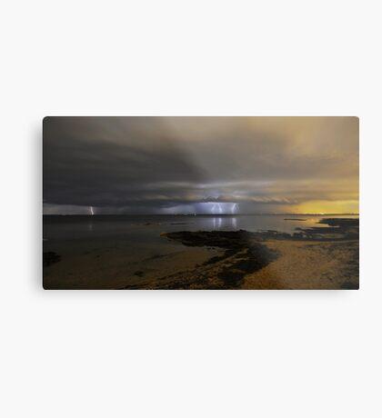 Nature's light show Metal Print