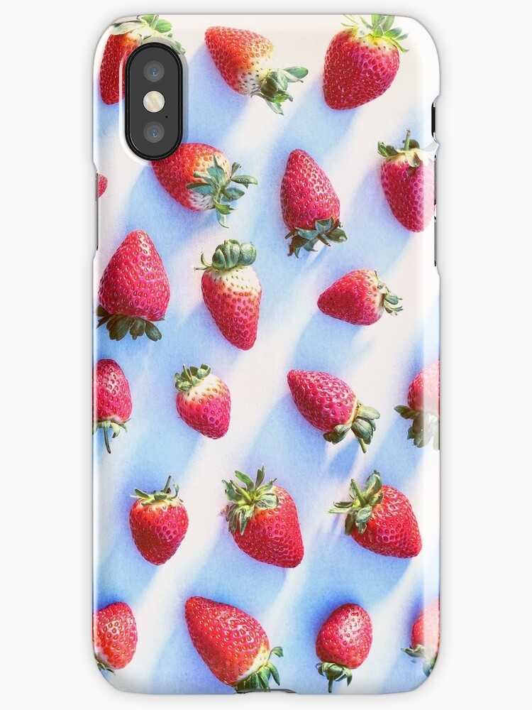 Sunset Strawberries by micklyn