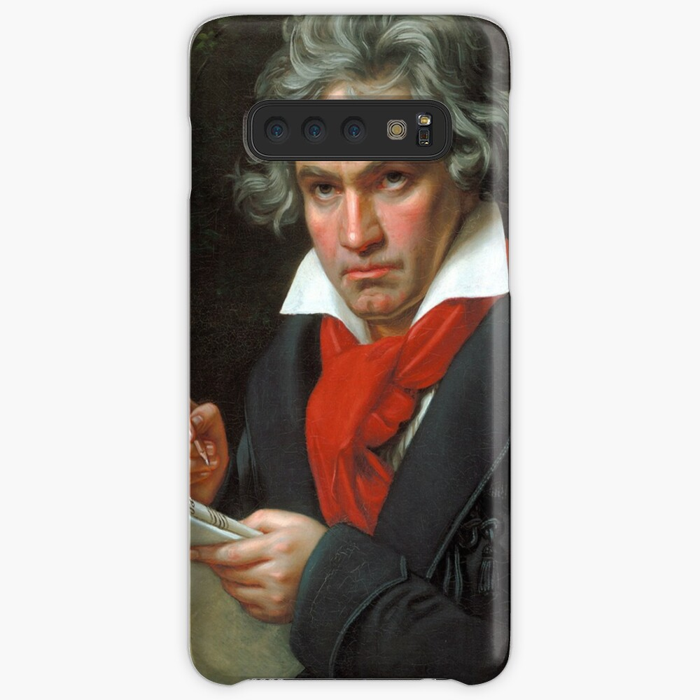 A Portrait of Beethoven Vintage Classical Music Poster
